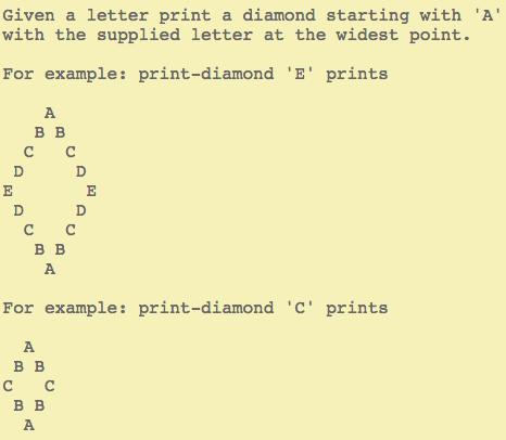 Print Diamond instructions