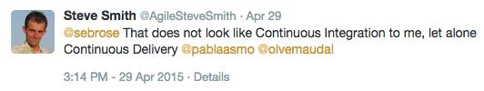 Steve Smiths CD tweet
